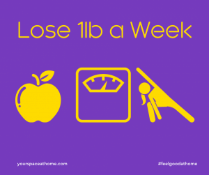 How to Lose 1lb a Week