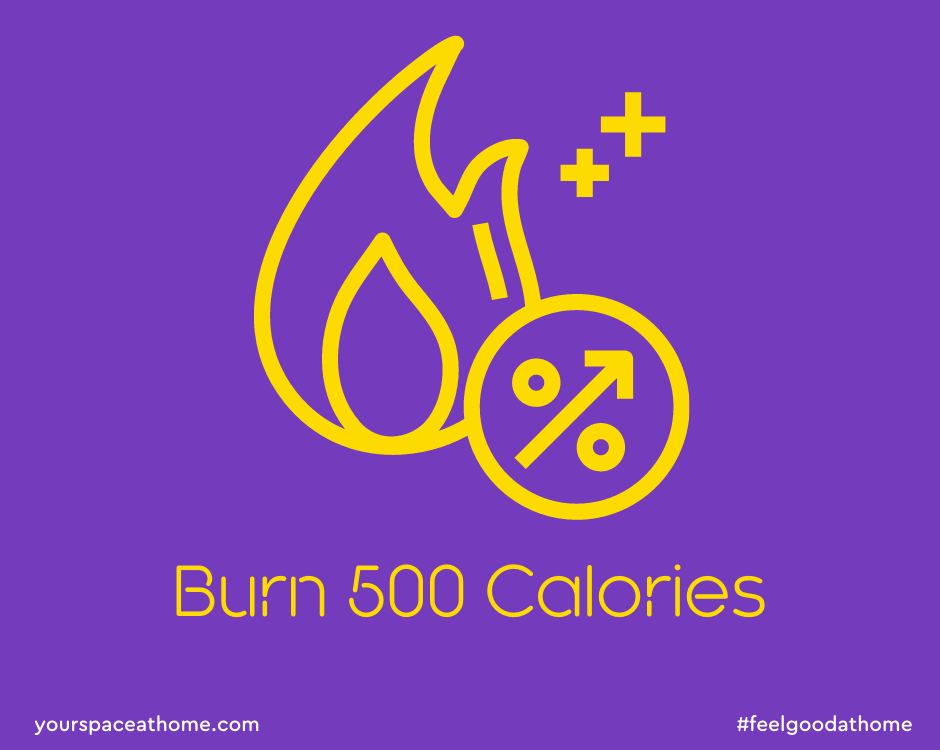 20 Ways to Burn 500 Calories